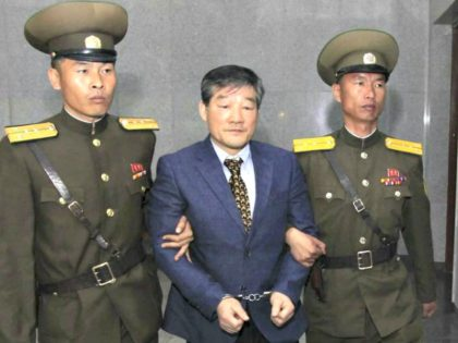 Prisoner in Korea