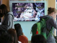 A TV screen shows a satellite image of the Punggye-ri nuclear test site in North Korea during a news program at the Seoul Railway Station in Seoul, South Korea, Sunday, May 13, 2018. North Korea said Saturday that it will dismantle its nuclear test site in less than two weeks, …