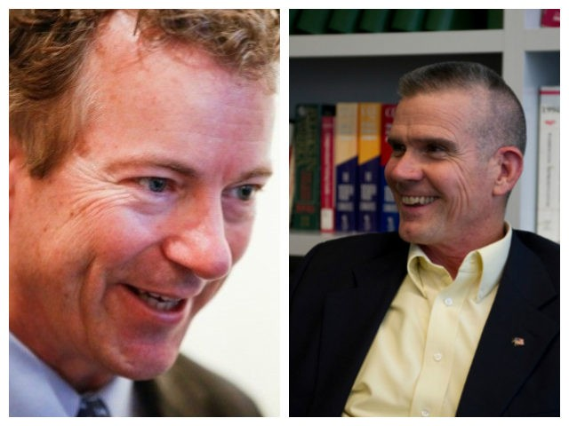 Rand Paul and Matt Rosendale collage