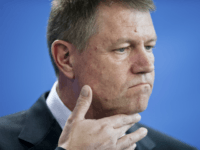 In this Thursday, Feb. 26, 2015 file picture Romanian President Klaus Iohannis attends a news conference after a meeting with German Chancellor Angela Merkel at the chancellery in Berlin, Germany. Romania's president has lost a bid to overturn a court case on a property he lost ownership of, following an …