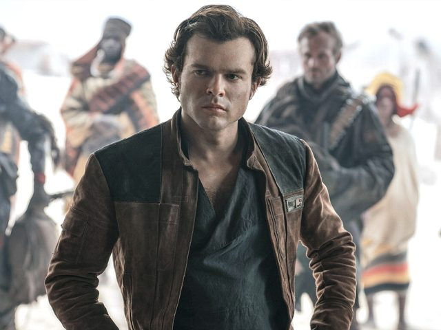 "Alden Ehrenreich appears in a scene from ""Solo: A Star Wars Story"" (Disney, 2018)."