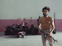 """Childish Gambino music video for """"This Is America,"""" YouTube 2018."""