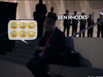 A new video of a speechless and horrified Deputy National Security Advisor Ben Rhodes on election night has gone viral
