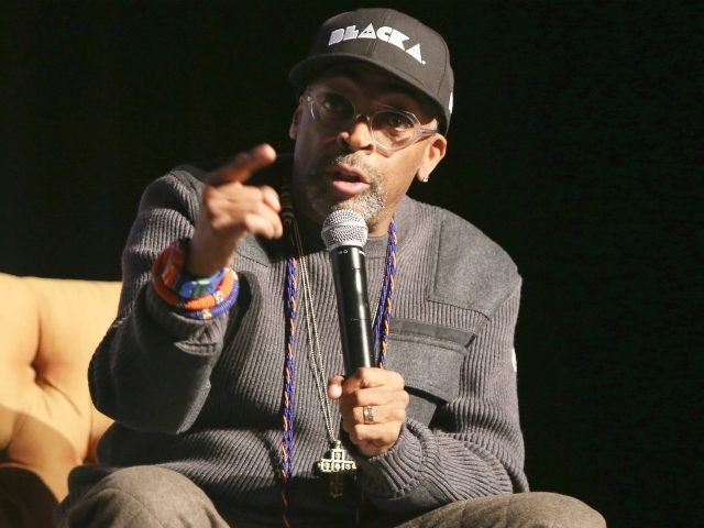 Director Spike Lee speaks onstage at the '4 Little Girls' screening and Q&A at Paramount Theater during the 30th Annual Virginia Film Festival at the University of Virginia on November 11, 2017 in Charlottesville, Virginia. (Photo by Tasos Katopodis/Getty Images for Virginia Film Festival )