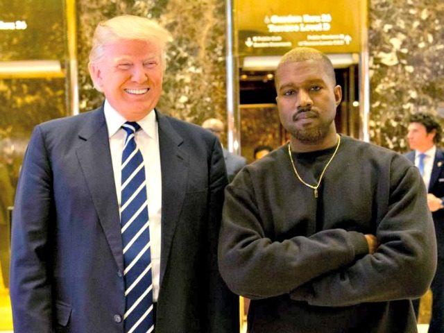 Trump, Kanye West