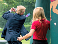 Trump Swings
