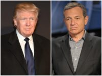 Donald Trump and Disney CEO Bob Iger.
