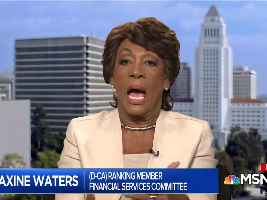 Maxine Waters: Trump Use of Term 'Witch Hunt' to Criticize Mueller Probe Is a 'Russia Tactic' | Breitbart