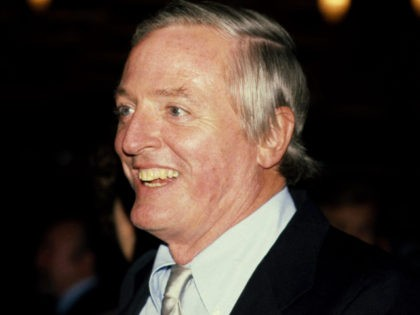 Conservative writer William F. Buckley pictured in 1981.