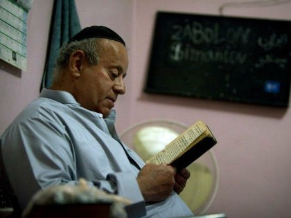 KABUL, AFGHANISTAN - SEPTEMBER 18: Zebulon Simantov reads a book in his home as he gets ready for the Jewish New Year feast of Rosh Hashanah September 18, 2009 in Kabul, Afghanistan. Zebulon, 57, claims to be the last Jew living in the war-torn conservative Muslim country and says he …