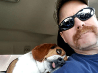 "The BEST Freedom Ride Picture EVER! Pulled from the Euthanasia List at FCDS today by HOUND Rescue and Sanctuary, ""Gregory"" is one thankful and appreciative Beagle! He KNOWS he is SAFE! He is Heartworm Positive and will be going through treatment, but he knows he is in good hands! We …"