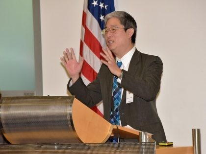 """Bruce Ohr, associate deputy attorney general with the Organized Crime Drug Enforcement Task Forces of the U.S. Department of Justice, presents """"Developing Global Corruption against Corruption and Transnational Organized Crime"""" during the Global Countering Transnational Organized Crime Alumni Community of Interest Workshop Feb. 4 at the George C. Marshall European …"""