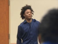 "Christopher Cullins, 15, is on trial for the April 1 death of little T'Rhigi Craig, and during the May 4 bond hearing the suspect was seen smiling to himself. The smirk was seen by Roshanda Craig, the murdered child's mother, who erupted yelling, ""What's funny"" as she rushed toward the …"