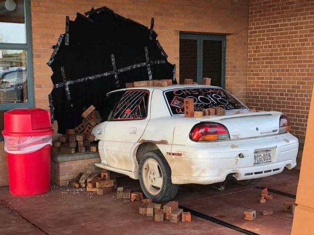"""A group of seniors at Cumberland High School in Wisconsin pulled off what the police department called one of the """"best senior pranks"""" ever."""