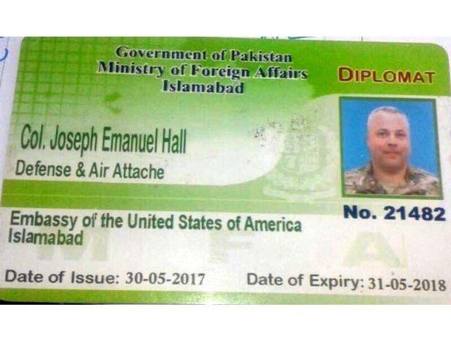 Pakistan has demanded that Col. Joseph Emanuel Hall's diplomatic immunity be waived so that he can face a criminal trial over a fatal traffic accident, but American officials have refused.