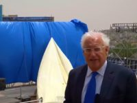 US Ambassador to Israel David Friedman on Friday gave a first glimpse of the new US embassy in Jerusalem, showing off workers erecting the official seal on the building and preparing for the opening ceremony.