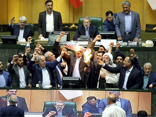 Iranian Leaders Chant