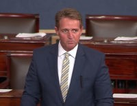 Jeff Flake: Trump Has 'Debased' the Presidency with 'Moral Vandalism'