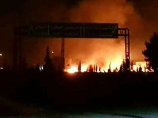 Suspected Israeli strike on Syria kills 8 Iranians: monitor