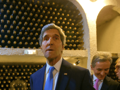 Secretary of State John Kerry tours the Cricova Winery and cellars of its wine collection with Moldovan Prime Minister Lurie Leanca, right, and other officials Wednesday, Dec. 4, 2013, in Chisinau, Moldova. Created in 1952, Cricova is probably the best-known name in wine in Moldova. The state-run winery includes an …