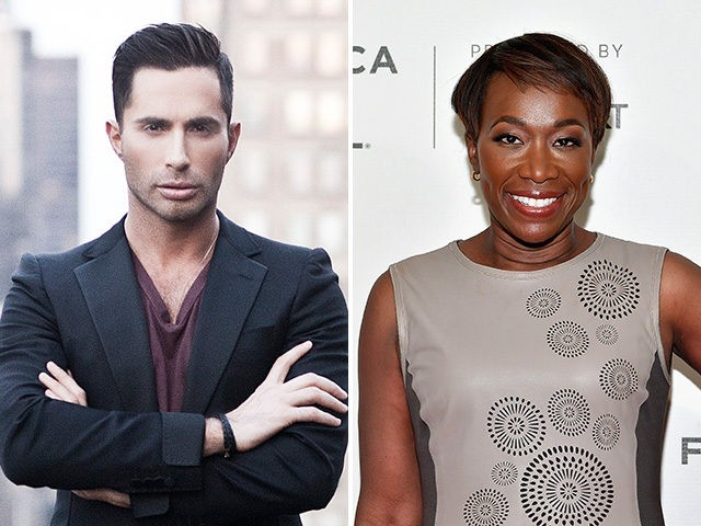 MSNBC host Joy Reid and pornography producer Michael Lucas.