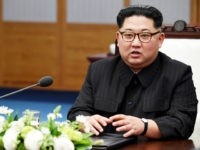 Kim Jong Un, North Korea's leader, attends the inter-Korean summit at the Peace House in the village of Panmunjom in the Demilitarized Zone (DMZ) in Paju, South Korea, on Friday, April 27, 2018. Kim and Moon agreed Friday to finally end a seven-decade war this year, and pursue the complete …