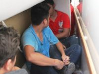 Mexican migrants found being smuggled in box truck loaded with furniture. (Photo: U.S. Border Patrol/Laredo Sector)
