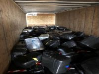 Marijuana load seized at Laredo Port of Entry. (Photo: U.S. Border Patrol/Laredo Sector)