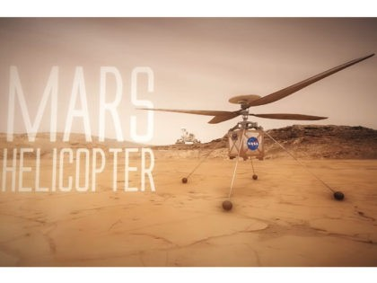 NASA Sending Tiny Helicopter to Fly over Mars in 2021
