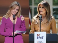Samantha Bee and Melania Trump.
