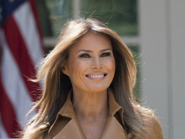 Melania trump admired appearance at a gala evening at Ford's theater