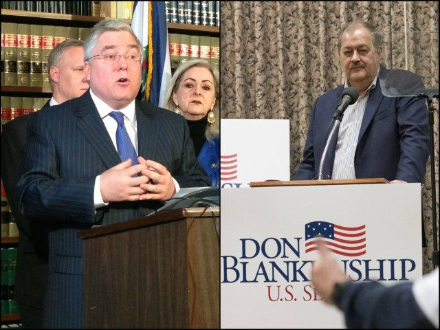 WV AG Patrick Morrisey and Senate candidate Don Blankenship