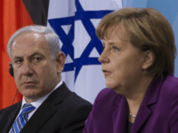 German Chancellor Angela Merkel and Israeli Prime Minister Benjamin Netanyahu brief the media after bilateral talks at the chancellery in Berlin, Germany. A day before German chancellor Angela Merkel and nearly her entire Cabinet arrive in Israel, her foreign minister published an op-ed in an Israeli newspaper Sunday encouraging Israel …