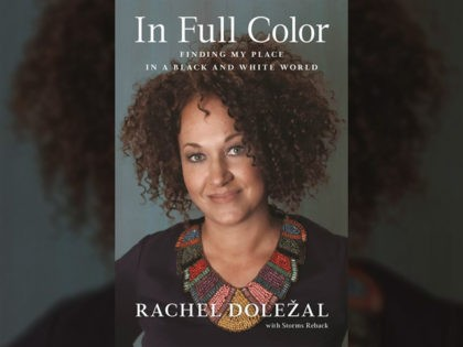 "The cover of Rachel Dolezal's memoir ""In Full Color."""