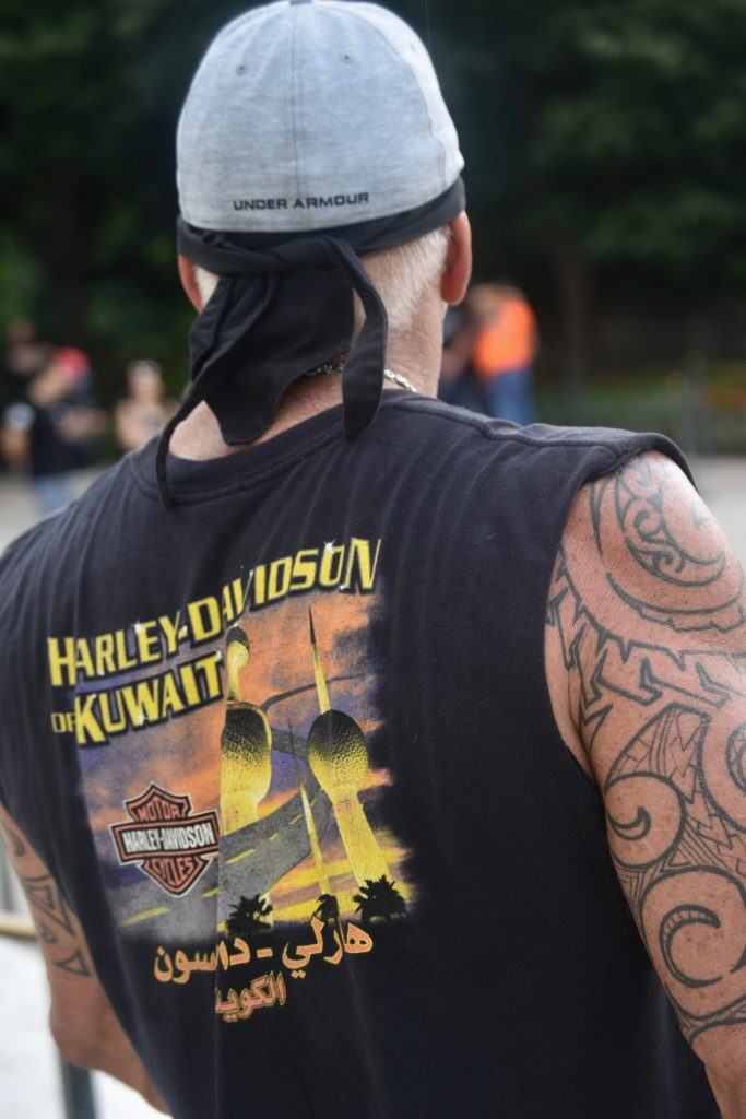 Rolling Thunder 1: Hundreds of Rolling Thunder bikers visited Arlington National Cemetery while they were in Washington, DC. (Penny Starr/Breitbart News)