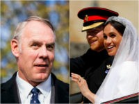 Ryan Zinke and Prince Harry, Meghan Markle