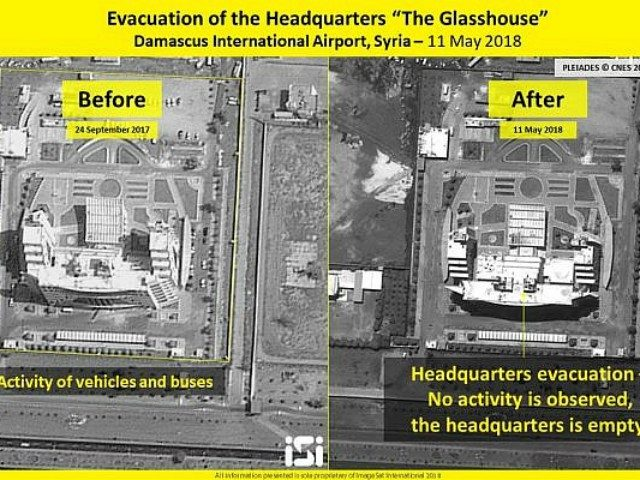 Satellite Footage Shows Israel Struck Military Site at Damascus Airport			Supplied		by Breitbart Jerusalem14 May 20180		14 May 2018		14 May 2018