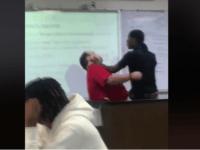 student hit teacher