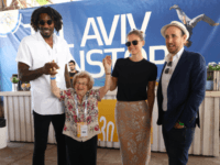 amare, dr ruth, bar refaeli and randall lane, chief content officer of forbes