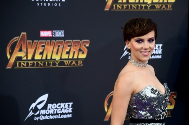 "Scarlett Johansson, who plays Black Widow, is one of several A-Listers reprising their roles in ""Avengers: Infinity War"""