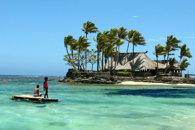Tourism Fiji's mistake caused outrage in the deeply religious Pacific nation