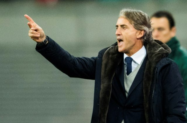 Zenit coach Roberto Mancini has won league titles in Italy and England