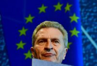 EU Budget Commissioner Guenther Oettinger says a mix of cuts and more money from member states is needed