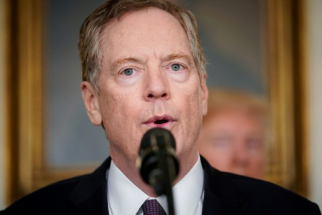 US Trade Representative Robert Lighthizer says it is 'a big, big challenge' to resolve an escalating trade dispute with China
