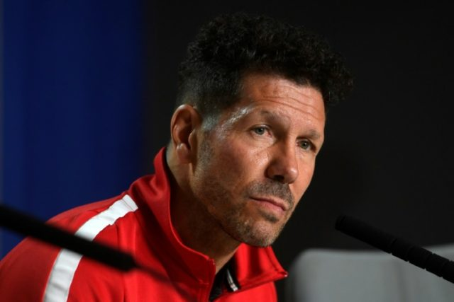 Diego Simeone says his Atletico team will not give any thought to Arsene Wenger's impending departure from Arsenal