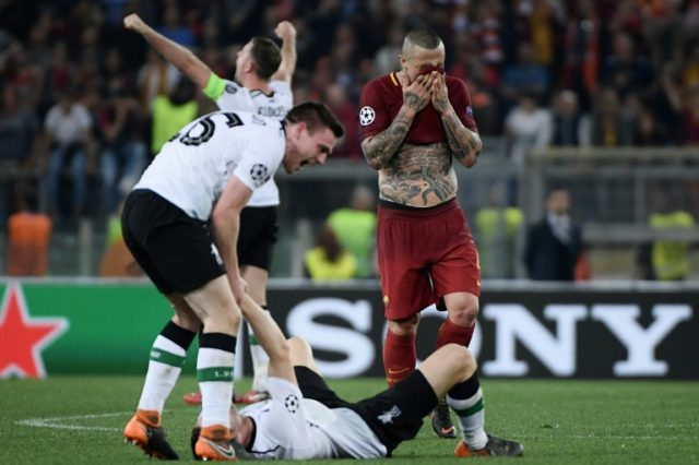Roma bowed out of the Champions League at the hands of Liverpool