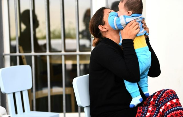 The rules are more relaxed for mothers of young babies at Baumettes women's prison in Marseille