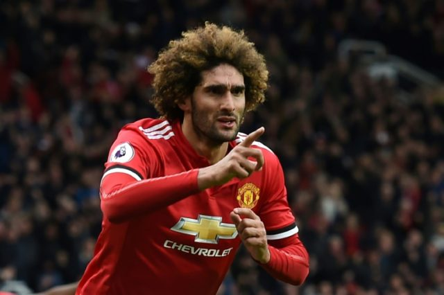 Marouane Fellaini scored Manchester United's winner in a 2-1 victory against Arsenal last weekend