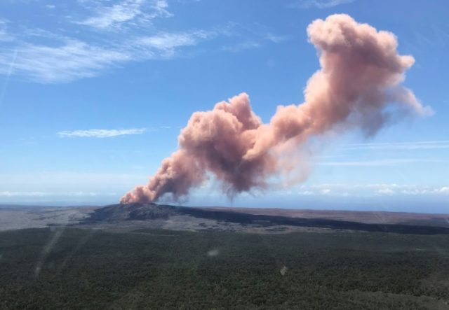 Thousands of people have been asked to leave their homes on Hawaii's Big Island following the eruption of the Kilauea volcano