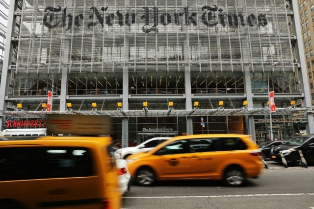 "US President Donald Trump dismisses The New York Times as a ""failing"" newspaper but its online subscriptions continue to rise, reaching almost 2.8 million around the world"